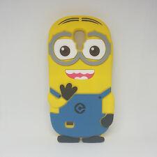 Funda Carcasa Silicona 3D Minion Samsung Galaxy S4 I9500