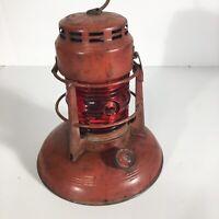 Vintage Dietz No. 40 Traffic Gard Lantern EMBURY NO 40 Red Globe Syracuse NY