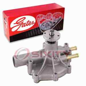 Gates Engine Water Pump for 1986-1992 Lincoln Mark VII 5.0L V8 Coolant jp
