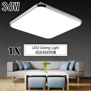 """1x 36W 18"""" LED Ceiling Light Cool White Pendant Fixture Modern Flush Mount Lamp"""