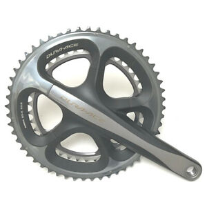 NOS Shimano Dura Ace 7900 Right Hand Crank Including 39-53 Chainrings - 170mm