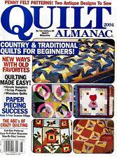 2004 Quilt Almanac Magazine #Q41