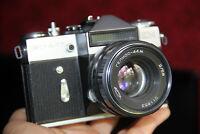 Camera ZENIT EM Case Lens HELIOS-44M 2/58 mm MADE in USSR Vintage Working №2
