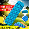 Ultralight Inflatable Sleeping Mat Camping Air Pad Roll Bed Mattress With