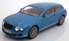 2010 Bentley Continental Flying Star Light Blue by BoS Models LE of 1000 1/18