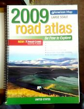 2009 American Maps Large Scale Road Atlas - United States