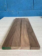 Walnut TImber - Natural Wood - Hardwood 4 Pieces 48mm X 22mm X 530mm Long