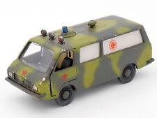 URSS 1/43 RAF 2203 РАФ M 22031 VERSION AMBULANCE MILITAIRE CCCP USSR NOVOEXPORT