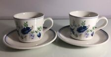 Royal Albert Meadow Song Cups & Saucers X2