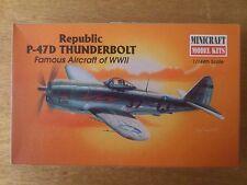1:144 Minicraft Nr. 14413 P-47D Thunderbolt Repubiic.  Bausatz.