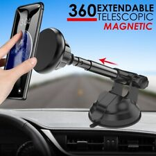 360 Car Phone Holder Universal Mount Windscreen Dashboard Suction Magnetic Long