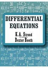 Differential Equations. Booth, Stroud
