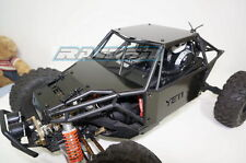 Axial YETI 90025 90026 Metal Steel Front+Side+Roof Body Panel Protector Guard BK
