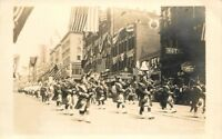 1915 Shriners Parade Seattle Washington RPPC real photo postcard 10888