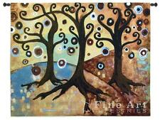 53x44 TRINITARY TREE OF LIFE Contemporary Tapestry Wall Hanging