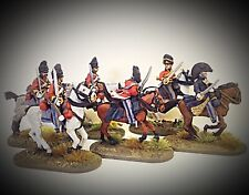 SHOWCASE PAINTED 28mm BRITISH UNION BRIGADE COMMAND & SCOTS GREYS, PERRY FIGURES