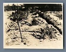 Second Sino Japanese War Vintage silver print. The Second Sino-Japanese War (Jul