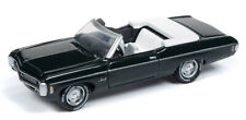 1/64 JOHNNY LIGHTNING CLASSIC GOLD 1969 Chevrolet Impala Convertible in Fathom G