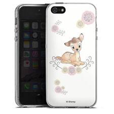 Apple iPhone 5s Silikon Hülle Case - Bambi cute