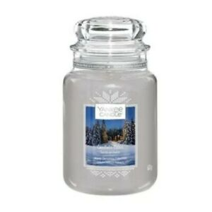 YANKEE CANDLE LARGE JAR CANDLELIT CABIN - THE ALPINE COLLECTION Christmas New