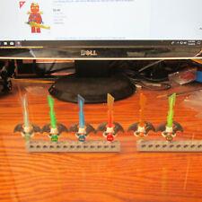 LEGO (6) Ninjago Skyboard Djinn Blade Sword Ninja Weapon Sky Pirate