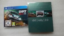 Dirt Rally 2.0 PS4 PROMO Game Rare + Dirt Rally 2.0 Steelbook PS4 Promotional