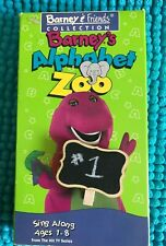 BARNEY'S ALPHABET ZOO ~ VHS ~ CLASSIC  or BARNEY & FRIENDS COLLECTION ~1+ SHIP
