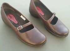 MERRELL Shoes Brown Leather SPIRE EMME Low Mary Jane Sz 8½   8.5
