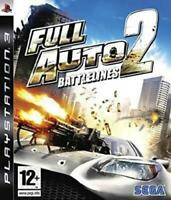 Full Auto 2 Battlelines Playstation 3 Game PS3 Used