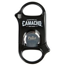 Palio Cigar Cutter GLOSSY BLACK! COMACHO Logo! New! Free Shipping! SAVE 74%!!