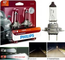 Philips X-Treme Vision H7 55W Two Bulbs Head Light Replacement Motorcycle Bike