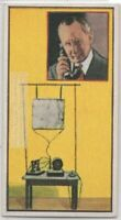 Marconi Wireless Telegraphy Radio Physics Electricity Vintage Trade Ad Card