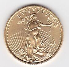 2008  $5 American Gold Eagle 1/10oz Gem BU coin in airtight cap