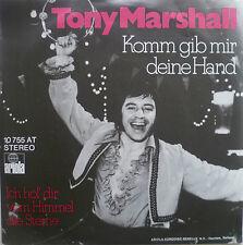 "7"" NL-PRESS RARE TONY MARSHALL Komm gib mir Deine Hand"