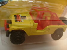 1983 METTOY CORGI JUNIORS DIE-CAST #E182 YELLOW RENEGADE JEEP MOC