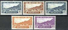Senegal 1935, 1-10c Pont Faidherbe, Bridge, VF MNH, Yv 114-114