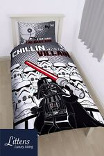 Lego Star Wars Villains Panel Single Duvet Quilt Cover Set Children Bedding