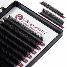 Volumenwimpern C Curl - Seidenwimpern - Stärke 0.10mm - Mix 8-14mm - 16 Streifen