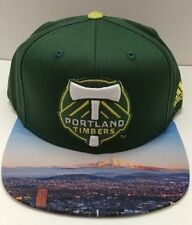 Portland Timbers MLS adidas Authentic Team Structured Adjustable 2D City Hat