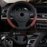 Universal Car Steering-wheel Cover Anti-Slip Automotive Accessories PU Leather
