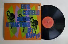 Elvis Costello Get Happy Rare Promo Vinyl LP 1984 US PC 36347 EX/VG+