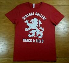 CENTRAL COLLEGE DUTCH Track & Field Logo Soft Blend T-Shirt Size S Men's Small