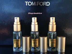 3 OF TOM FORD TOBACCO VANILLE*OUD WOOD*TUSCAN = 15 ml SPRAY
