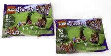 LEGO Friends 30412 Andrea's Park Picnic Polybag 44 pcs Bird Hot Dog Bike