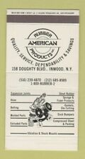 Matchbox - American Rubber Products Inwood NY