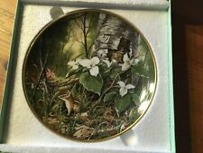 "Genuine Porcelain Kaiser Collectors Plate ""Trillium"" First Edition of the Series"
