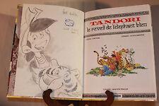 Dédicace Tandori #1 Réveil éléphant bleu EO Comme Neuf Scotch Arleston Ridel