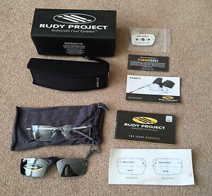 Rudy Project Rimless Titanium KABRIO GRAVITY 04 Rx Flip Sunglasses Ref:CF09