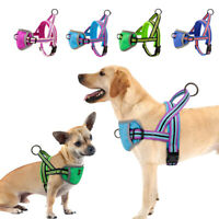 Step in Dog harness Padded Mesh Reflective Dog Walk Vest for Small Large Dogs