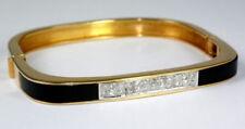 Armbänder mit Edelsteinen echten Diamant im Armreif-Stil für Damen